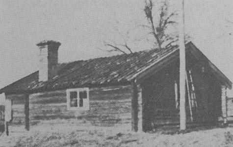 Stora Rödje. Äldre boningshus.