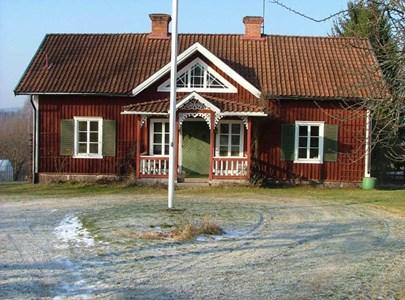 Petrus Svenssonsagården. Mangårdsbyggnad.