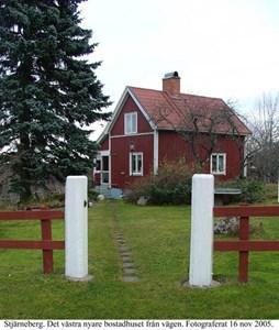 Stjärneberg. Västra boningshuset.