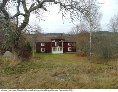 Målens Västergård. Mangårdsbyggnad.