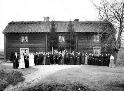 Målens Västergård. Bröllop.