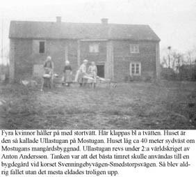 Svenningeby Mostugan.