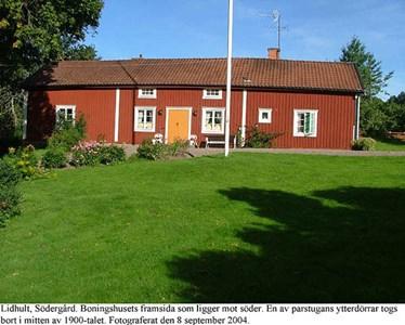 Lidhults Södergård. Mangårdsbyggnad.