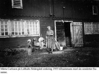 Lidhults Södergård. Märta Carlsson.