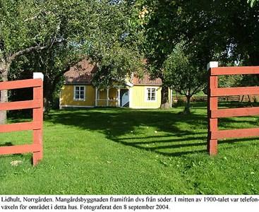 Lidhults Norrgård. Mangårdsbyggnad.