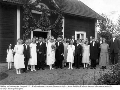 Bröllop på Sonstorp.