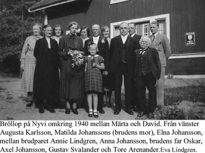 Bröllop på Nyvi.
