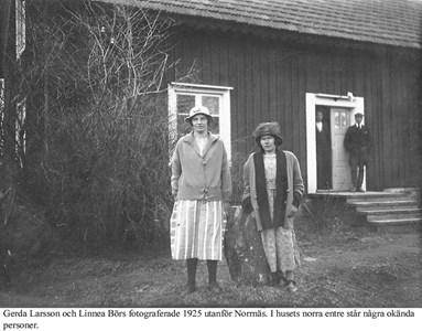 Norrnäs Gerda och Linnea.