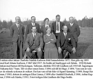 Familjen på Lindhem.