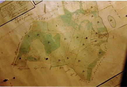 Tullerums ägodelningskarta