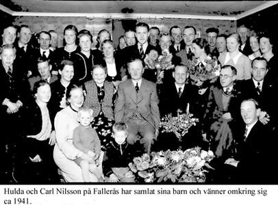 Fallerås Södergård. Släktmöte.
