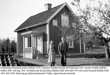 Rumsand. Karolin och Konrad Halldin.