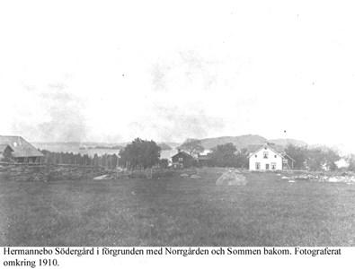 Hermannebo Södergård. Vy.