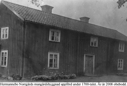Hermannebo Norrgård. Mangårdsbyggnad.