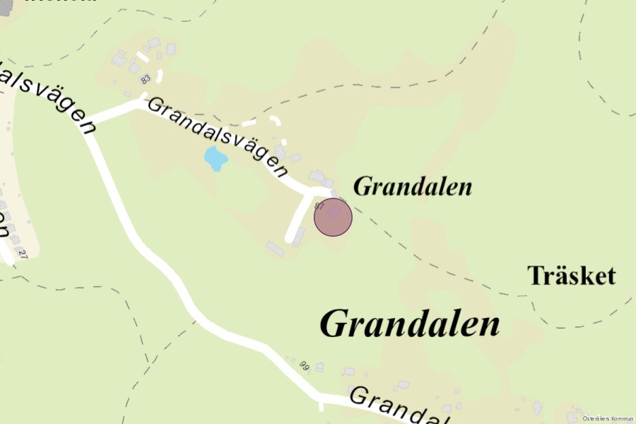 Grandalen-karta