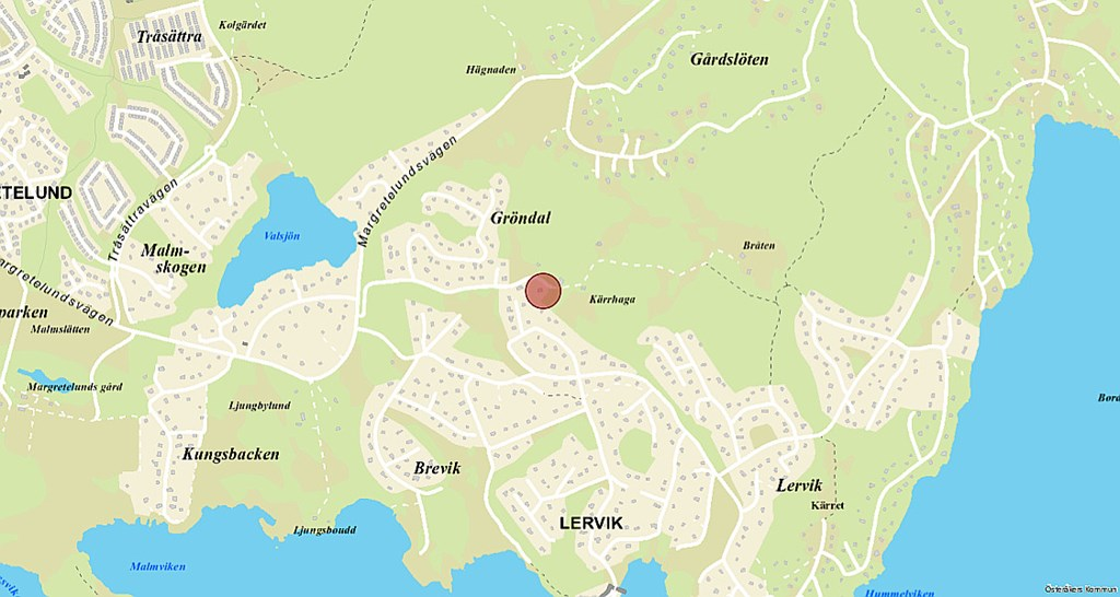 Gröndal-karta