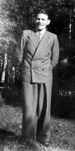 Fritz Gustafsson, Lövlunda, Östervåla.