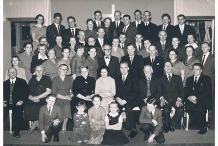 Baptistförsamlimgen slutet av 1950-talet.