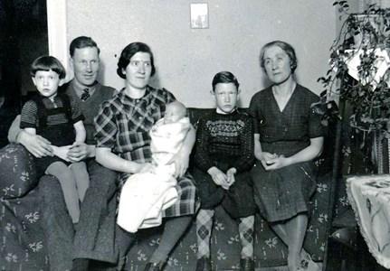 Familjen Sven Johansson, Stora Laggarbo, Östervåla