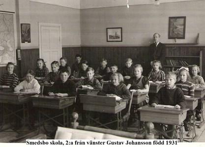 Smedsbo skola Gustav Johansson född 1931.jpg