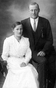 Olof och Helfrida Olsson, Ginka, Östervåla