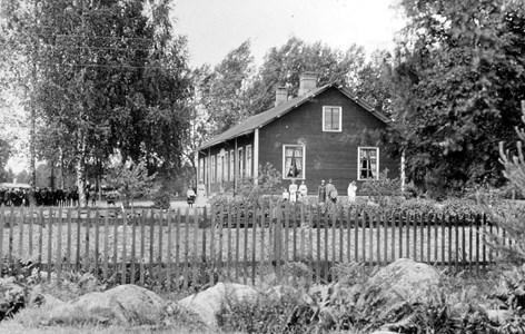 Aspnäs skola 1890-talet.