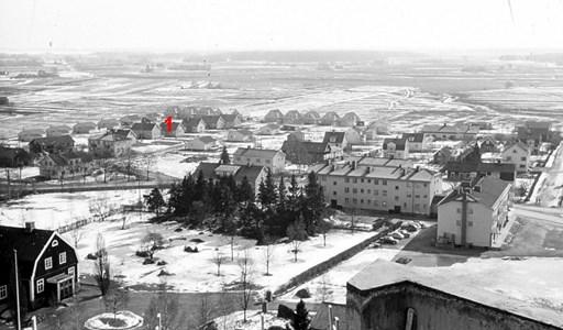 Bild från vattentornet med Åbygårdarna i förgrunden.jpg