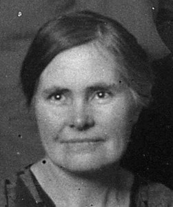 Hulda Matilda Pettersson, Kartan, Östervåla