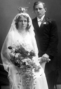 Bröllopsbild Anna o Anselm Nilsson