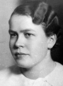 Greta Sahlberg, Bjurvalla, Östervåla