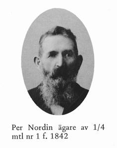 Per Nordin, Gräsbo, Östervåla