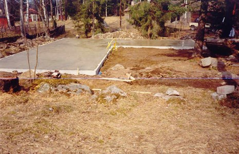 Grundplatta till Museet våren 1994.jpg