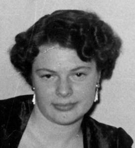 Harriet Ingegärd Gustafsson, Knutby Åby, Östervåla