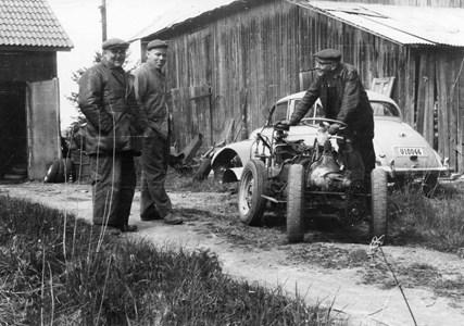 Anselm Olsson,  Åke Nilsson samt Paul Öman.jpg
