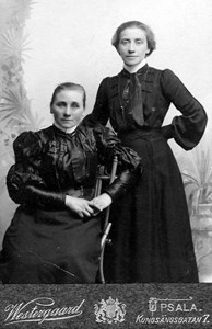 Vilhelmina Hillgren och Augusta Eriksson.jpg