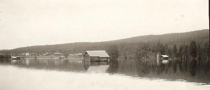 Vattenståndet i Sjuränget i Sjurby 1924.jpg
