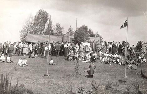 Fäbodgudstjänst i Björnarvet i början av 1950-talet - Kopia.jpg