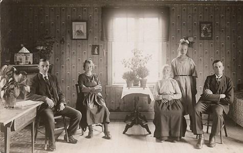 Jannes Smedmans familj i Oxberg