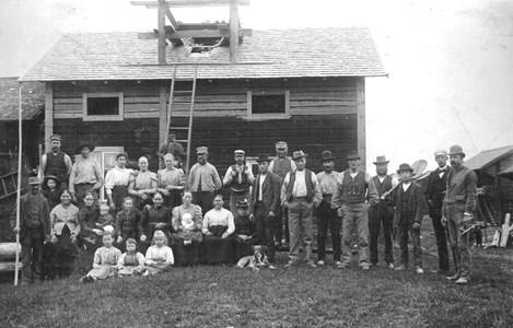 Molinsgard i Oxberg 1898