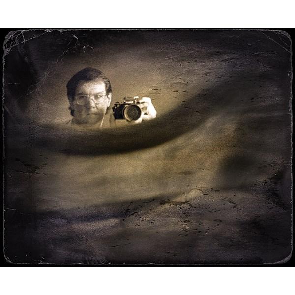 Gunne Ramberg självporträtt med Nikon