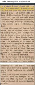 Branden i Svarvareboden 1906, ur tidningen Svea.