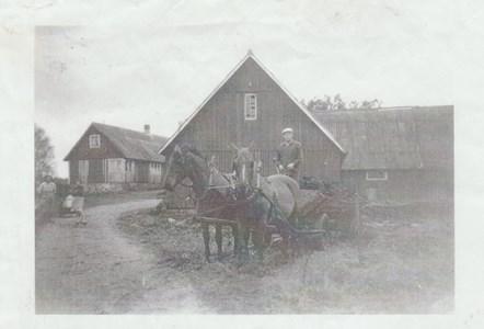 Skälleberga, Justus, 1950-talet