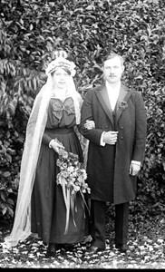 Karl Johan Andersson med hustru Alva