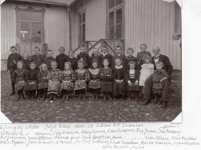 Ljungby skola 1909