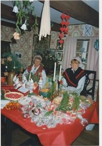 Julmarknad i Hembygdsstugan