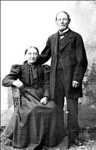 Johannes Björkman och hustrun Elisabeth