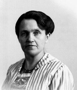 Anna Maria Forsberg i västra Forestad