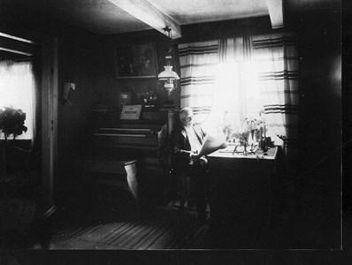 Kantor August Stenborg i hemmet