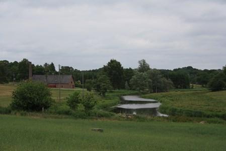 Rönneå vid Riseberga stärkelsefabrik