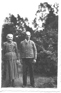 Henrik och Hulda Dyberg i Bökesåkra